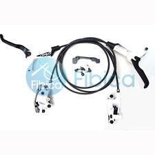 New Avid Elixir 1 Hydraulic Disc Brake Pair set+Brake Pads White