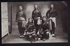 INDIEN type costumes un groupe d'indien