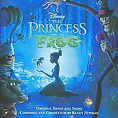 The Princess and the Frog [Original Songs and Score] by Randy Newman (Cd,.