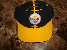 PITTSBURGH STEELERS STARTER  '' YOUTH '  DEADSTOCK 90'S HAT CAP VINTAGE SNAPBACK