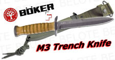 Boker Plus M3 Trench Knife w/ Metal Scabbard 02BO1943