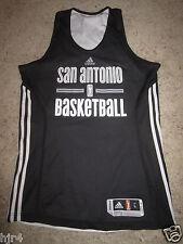San Antonio Silver Stars #7 WNBA Adidas Basketball Practice Jersey LG