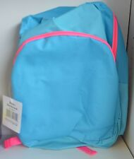 CHOOSE School Back Pack BackPack BLUE Pink GRAY Black Zipper Pouch Lightweight