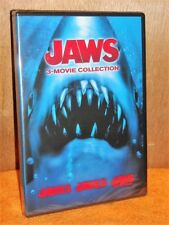 Jaws 3-Movie Collection 2, 3, and 4 (DVD, 2015) NEW horror thriller Roy Schieder