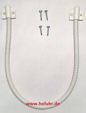 Kabelübergang Metall/PVC-Mantel weiß, 50cm, 7mm innen