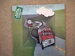 Canned Heat 70 Concert 1970 Liberty Records Lbs 83333 Excellent