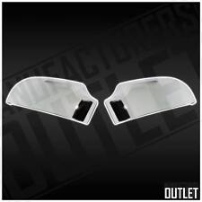 Chrome Side Rear View Mirror Cover Chevy S10 Blazer GMC Sonoma Jimmy 00-05