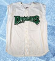 VTG Dayton Dragons Sleeveless Minor League Baseball Jersey Adult XL Reds