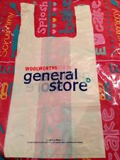 "Very Rare Unused Carrier Bag From""Woolworths General Store"" Includes Pharmacy"