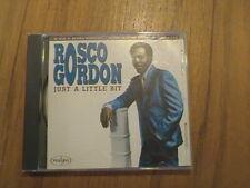 Rosco Gordon - Just A Little Bit-CD - Vee Jay CD (1993)