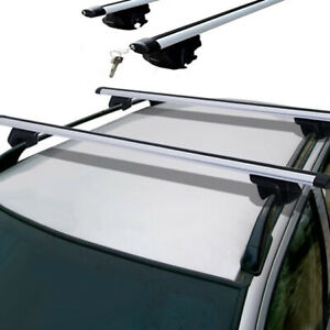 Aeroload 2 x  Roof Rack for Toyota Prado 150 Series with Factory rails Only