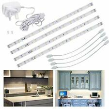 LED Under Kitchen Cupboard/Cabinet, Display Strip Lights | Cool White (4x30cm)
