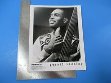 Original B&W Glossy Promo Photograph Gerald Veasley Heads Up International M5495
