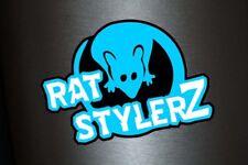 1 x  Aufkleber Rat Stylerz Style Sticker Tuning VW Ratte Autoaufkleber Fun Gag