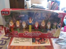 PEZ Snow White & the Seven Dwarfs Collector's Set NEW IN PACKAGE