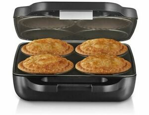 Sunbeam Electric 4 Up Pie Maker Magic Traditional PM4800 Deep Fill Non-Stick NEW