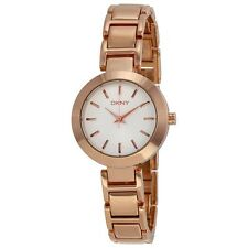 DKNY Women's Stanhope NY8833 Rose Gold Stainless-Steel Analog Quartz Watch