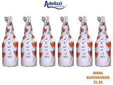6 Bottiglie Birra BLOEMENBIER CL. 33 ARTIGIANALE BELGA Strong Golden Ale 7% VOL.