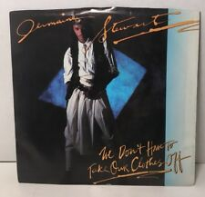 """Jermaine Stewart We Don't Have to Take Our Clothes Off 45 rpm 7"""" Vinyl Record"""