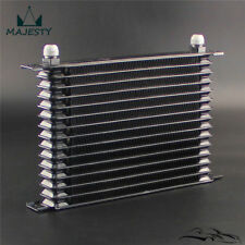Universal 15 Row AN10 Engine Transmission 262mm Oil Cooler Trust Style