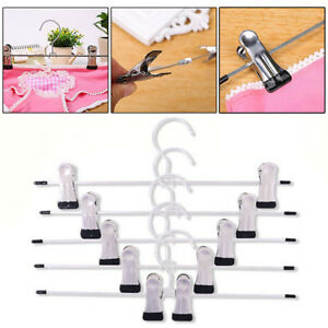 Strong Metal Trousers Clip Hanger Skirt Pants Clothes Coat Hooks Ra ttoo