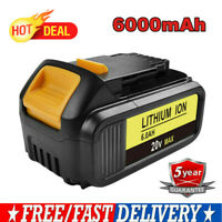 20V 6.0Ah Li-Ion Battery for Dewalt DCB200 DCB205 DCB205 DCB182 DCB201 DCF885C2