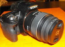 Sony camera  Alpha SLT-A33 2 lenses 18-55  55-200