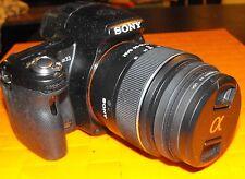Sony camera  Alpha SLT-A33 2 lenses 18-55  55-200