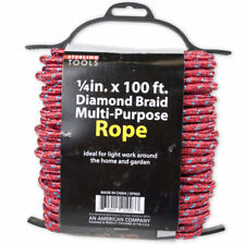 Set of 4 Bulk Lot Diamond Braid Multi-Purpose Rope on Holder