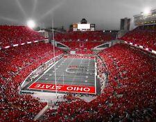 Ohio State Buckeyes Ohio Stadium Columbus Ohio Original Signed 11x14 Print