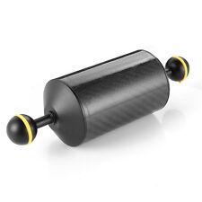 """200 mm 7.9"""" galleggiante in fibra di carbonio BRACCIO DOPPIA PALLA FR subacquea Videocamera sott 'acqua"""