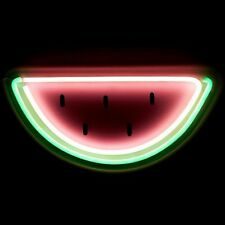 Neon Watermelon LED Wall Light Home Decor Sign Night Beer Bar Lamp Lighting Pub