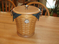 Longaberger Collector Club 10th Anniversary Celebration Basket Set - New