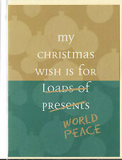 Christmas Holiday Cards Jimmy Chocolate Cheeky My Christmas Wish is... UK Import