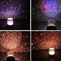 Star Projector Light Romantic Star Cosmos Projector Sky Night Projector Sta R4T4