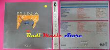 BOX 3 MC MINA Vol.2 SIGILLATO Brava Se telefonando 1986 CGD no cd lp dvd vhs