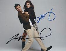 Eric McCormack & Debra Messing Signed WILL & GRACE 10x8 Photo AFTALOnline COA