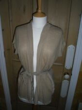 GHOST OF LONDON CARDIGAN, SIZE SMALL, FABULOUS QUALITY, VERSATILE, LINEN MIX