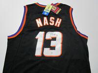 STEVE NASH / NBA HALL OF FAME / AUTOGRAPHED PHOENIX SUNS THROWBACK JERSEY / COA