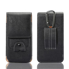 Climbing Leather Bag Case For iPhone Samsung S8 Huawei Redmi LG 4.7-5.7 Pockets