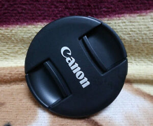 Cannon Center Pinch Snap On Front Lens Cap Cover 62mm for Canon Nikon Sony Fuji