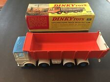 Dinky Toys No 925 Layla day Dump Truck With Tilt Cab
