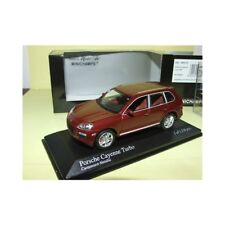 PORSCHE CAYENNE TURBO 2007 Rouge Bordeaux  MINICHAMPS