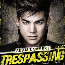 ADAM LAMBERT TRESPASSING DELUXE EDITION CD POP 2012 NEW