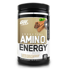 Optimum Nutrition Amino Energy Iced Chai Latte (30 Servings) Best by 01/2018
