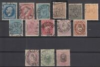 AT5500/ NORWAY – 1856 / 1878 USED CLASSIC LOT – CV 590 $