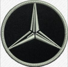 *Love It Or Its Free* Mercedes Benz logo Embroidered Patch Iron on or sew