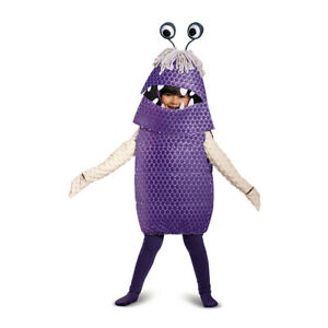 Toddler Boo Monsters Inc Disney Costume size Large 4-6