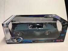1953 STUDEBAKER STARLINER BLUE 1:18 DIECAST MODEL CAR BY MAISTO 31651 R1