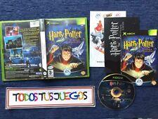 Harry Potter Y La Piedra Filosofal Xbox BUENA CONDICION Raro Rare Pal Es